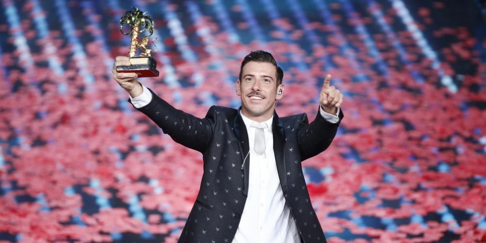Francesco Gabbani vincitore del Festival di Sanremo 2017