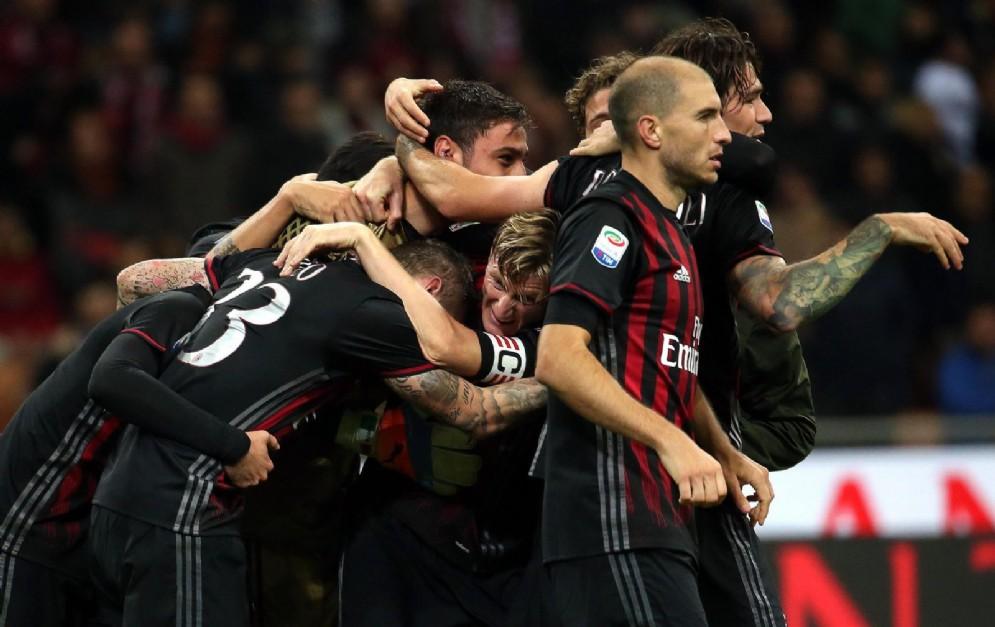 Il gruppo del Milan è pronto per il rush finale nella corsa all'Europa