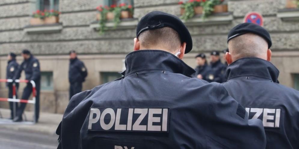 Forze di polizia tedesca.
