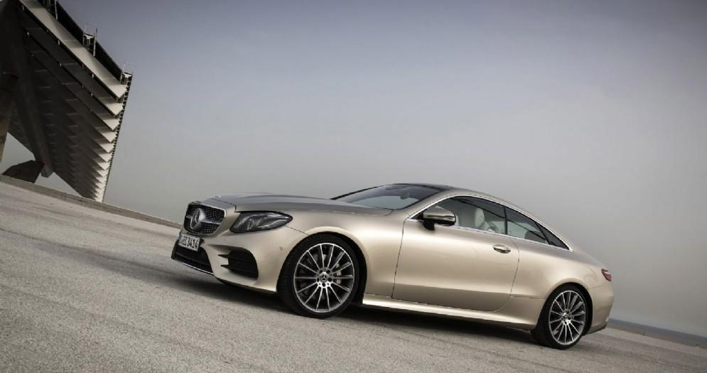 La nuova Mercedes Classe E Coupé