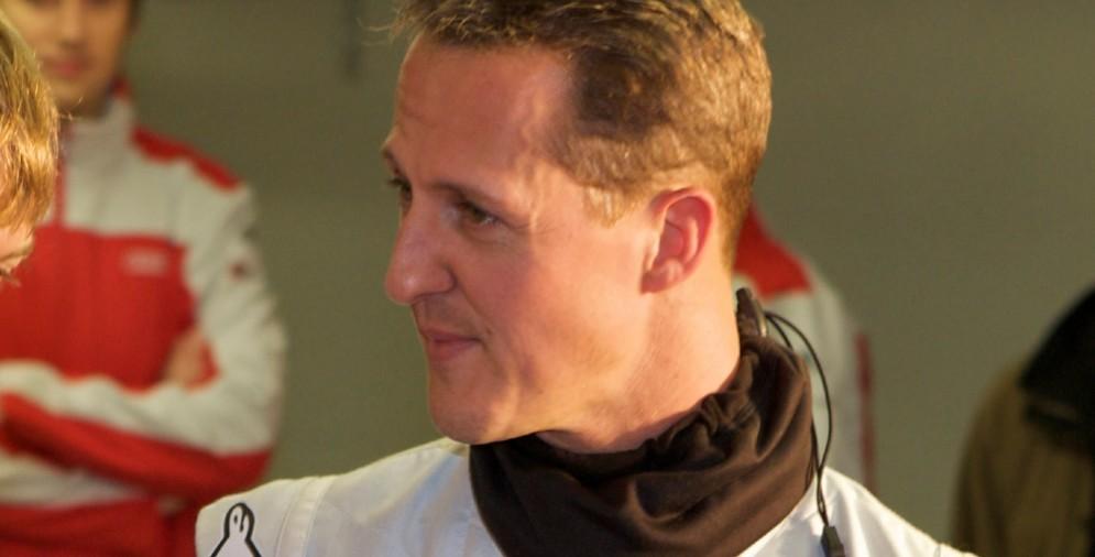 Michael Schumacher ai tempi in cui correva per la Mercedes