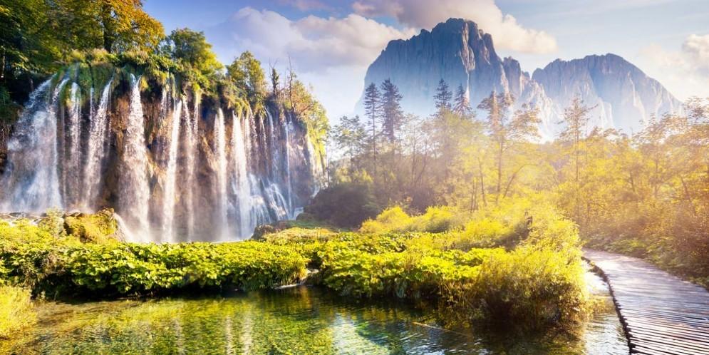 Il parco Plitvice in Croazia