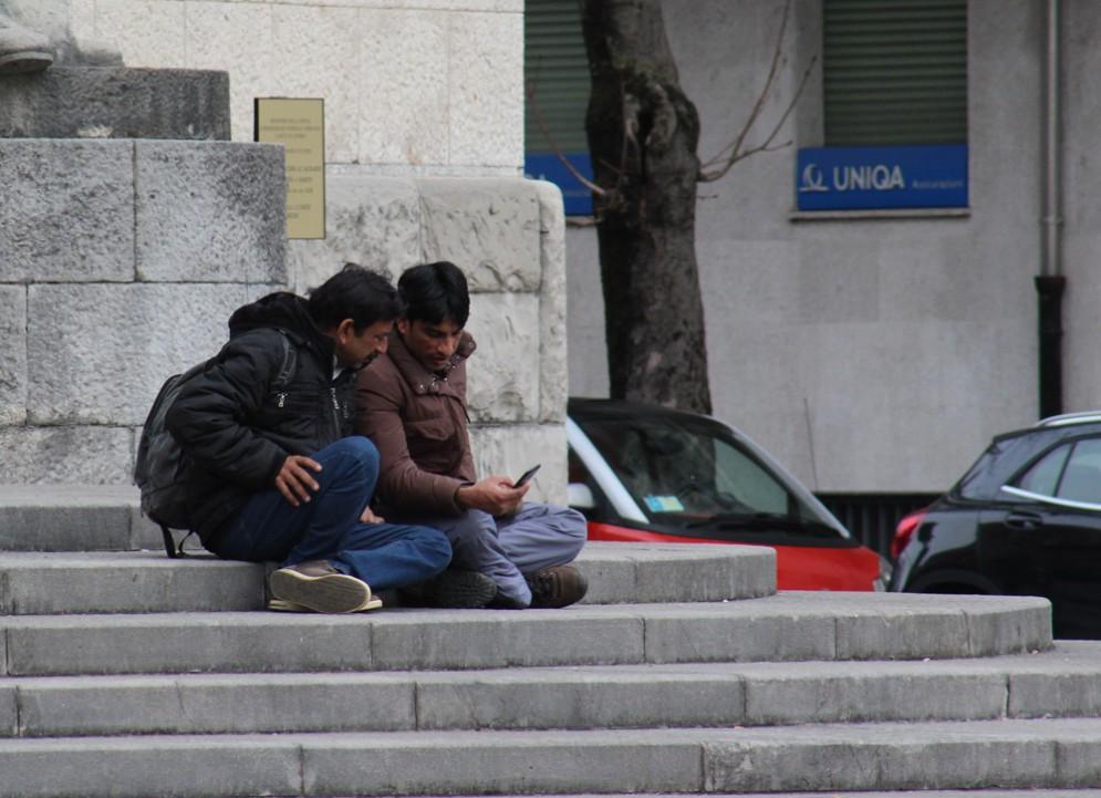 Due migranti in Fvg