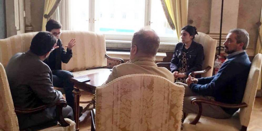 Lamya Aji Basha in visita a Trieste