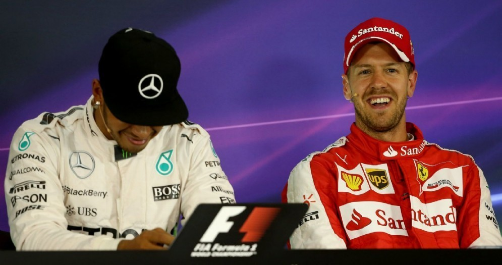 Lewis Hamilton e Sebastian Vettel: sarà la coppia della Mercedes 2018?