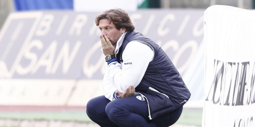 Giovanni Stroppa è stato calciatore del Milan e tecnico della squadra Primavera, oggi allena il Foggia