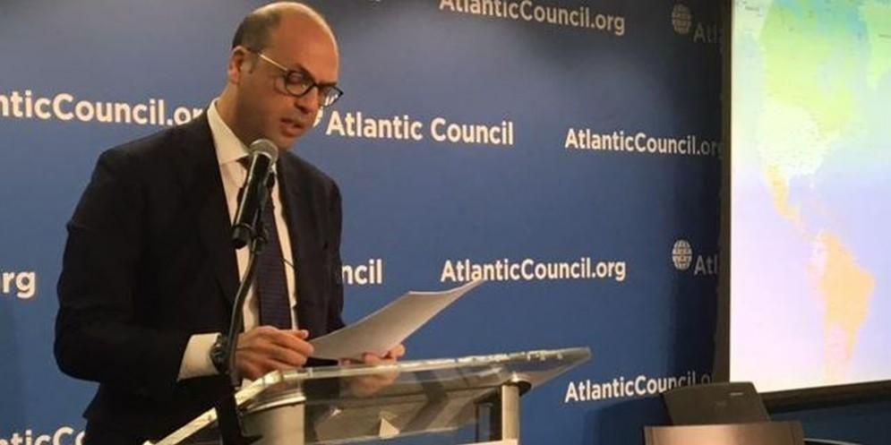 Il ministro degli Esteri Angelino Alfano.