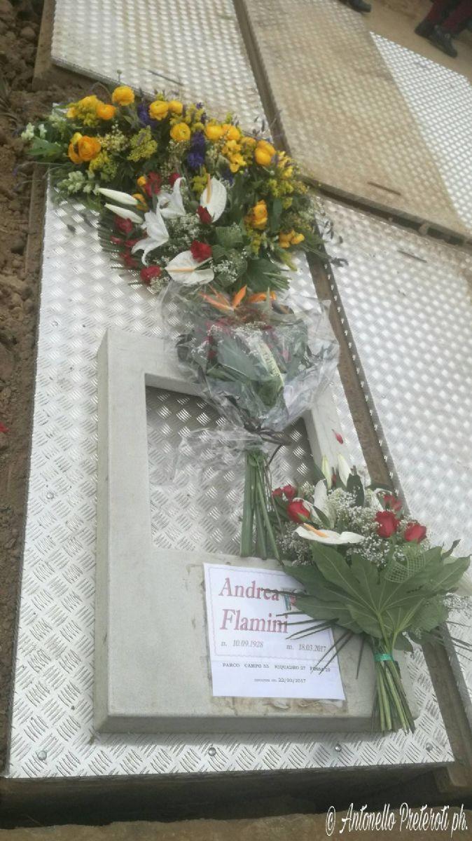 Funerale di Gianduja: l'ultimo saluto ad Andrea Flamini