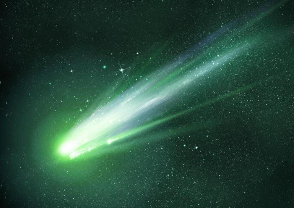 Arriva la cometa verde