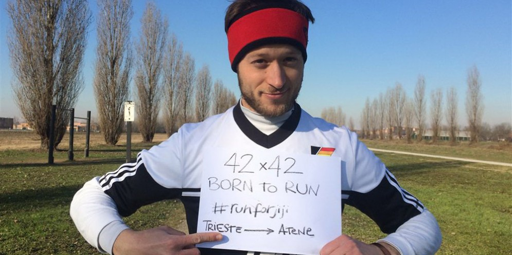 42 maratone in 42 giorni: ecco la sfida del triestino Giacomo Goina