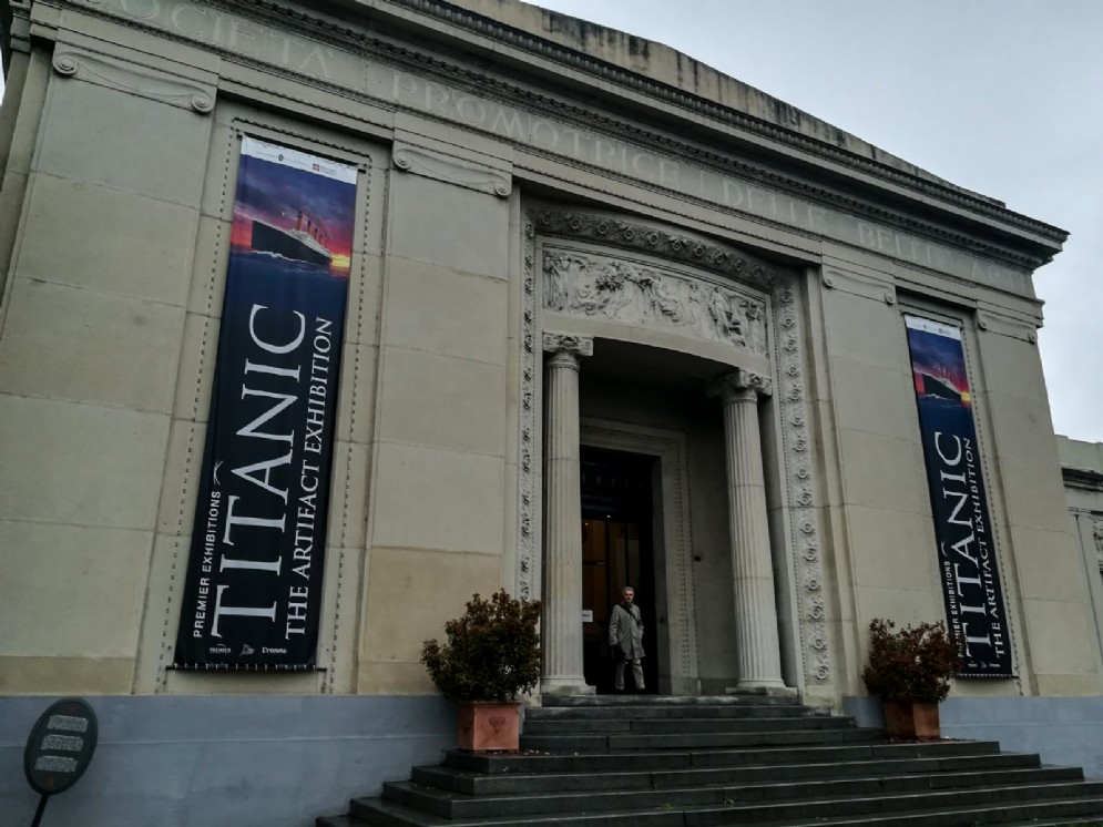«Titanic - The artifact exhibition» (© Adele Palumbo)