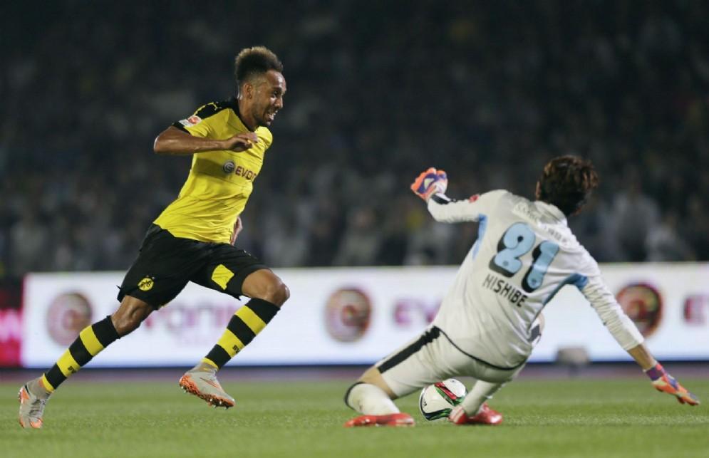 Pierre Emerick Aubameyang, attaccante del Borussia Dortmund e della nazionale del Gabon