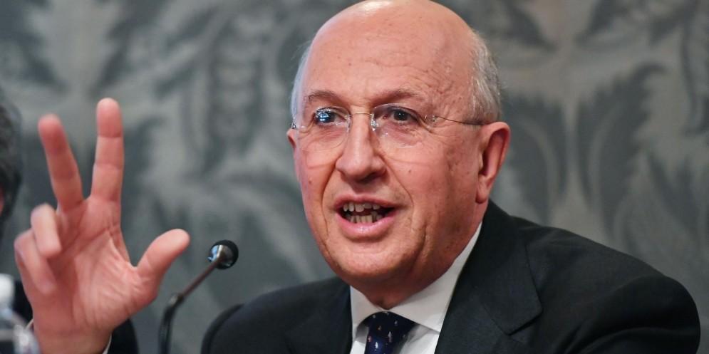 Il presidente dell'Abi, Antonio Pautelli.