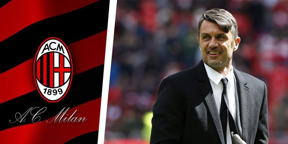 Il grande ex rossonero Paolo Maldini