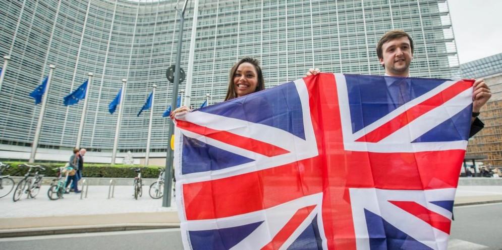 Bandiera del Regno Unito.