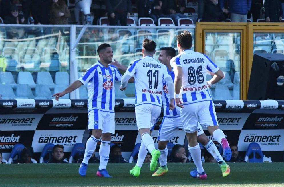Un'immagine del Pescara 2016-2017