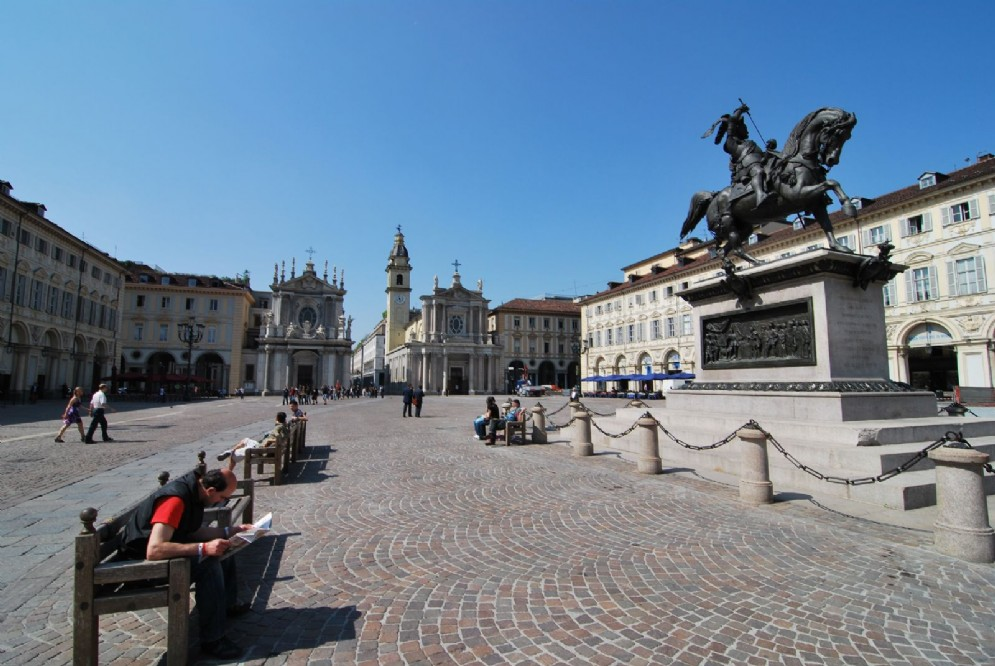 Piazza San Carlo, il Salotto di Torino