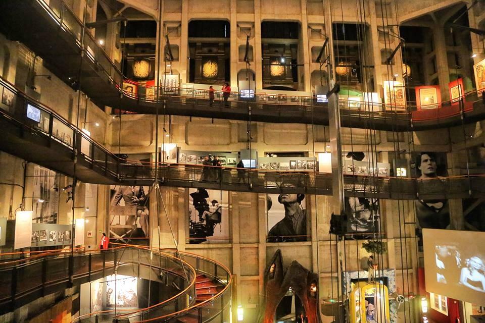 Il Museo Nazionale del Cinema, all'interno della Mole Antonelliana