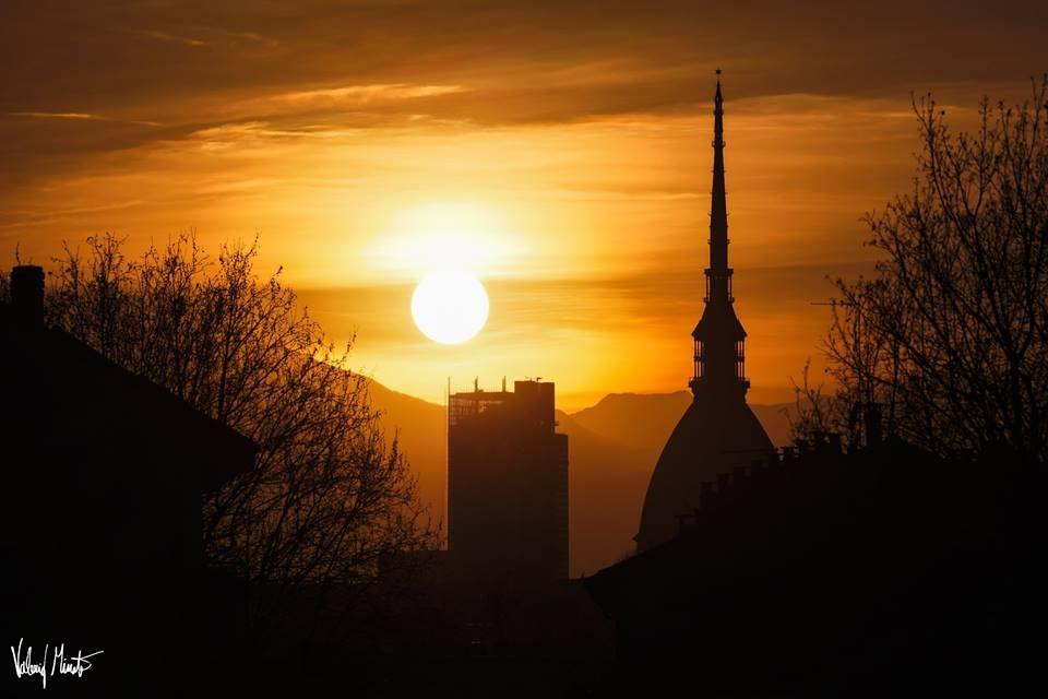 Il primo tramonto, ore 19:45