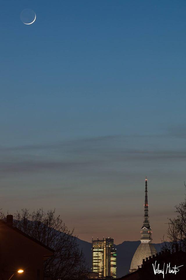 I colori del cielo iniziano a cambiare