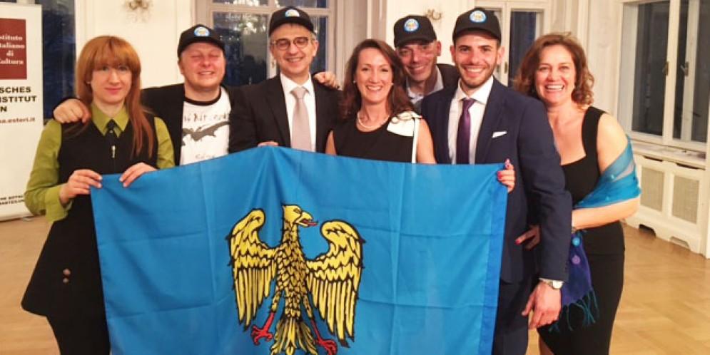 Il direttivo del nuovo Fogolar di Vienna