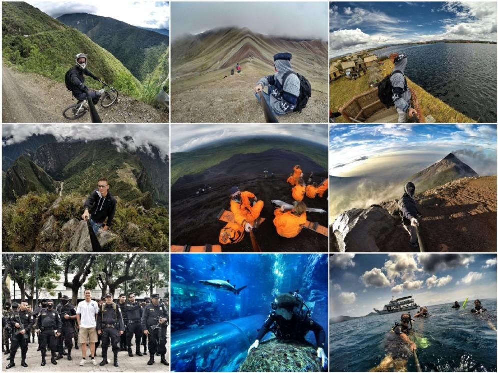 Il viaggio di Marco Concina: dal Friuli fino all'America passando per l'Oceania, l'Africa e il Sud Est asiatico