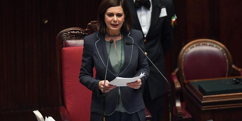 La presidente della Camera, Laura Boldrini.