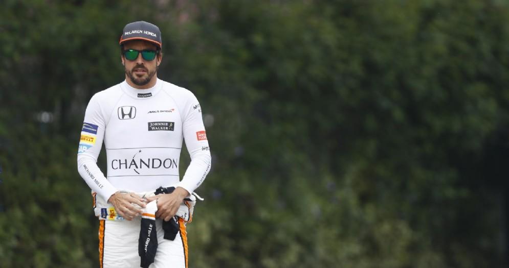 Fernando Alonso a Shanghai