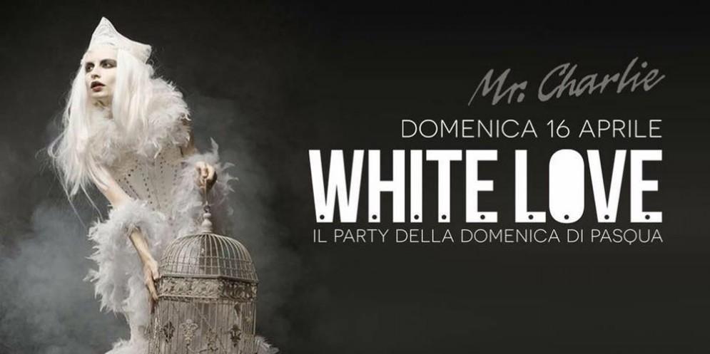 'Whitelove': party inaugurale per il Mr.Charlie