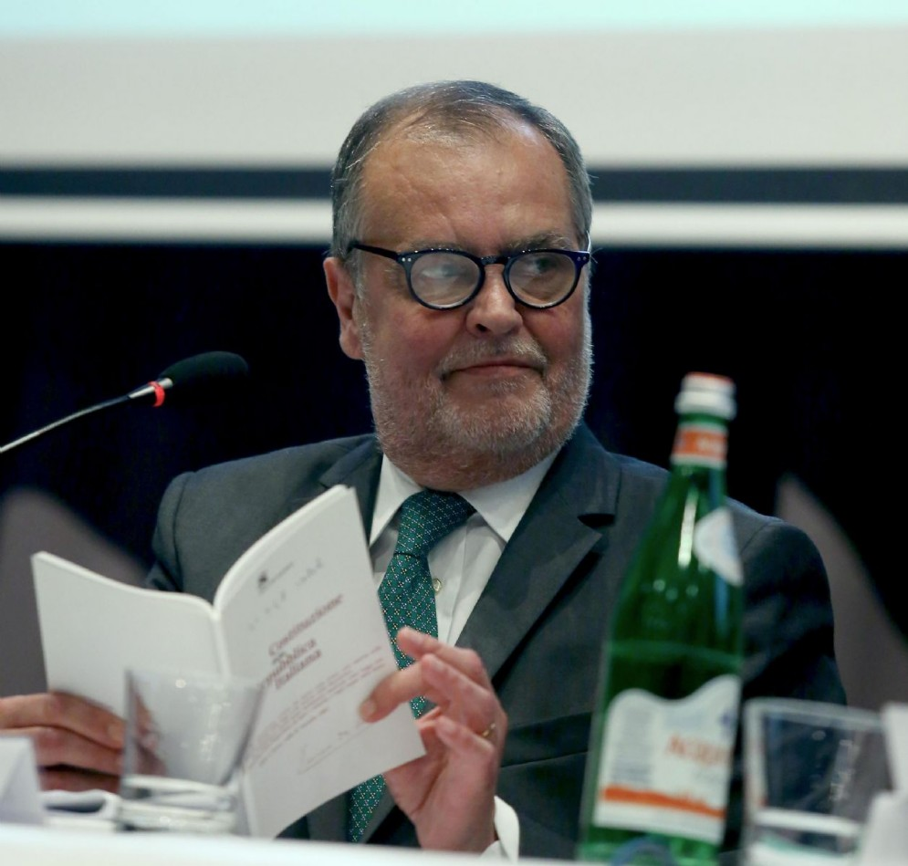 Il vicepresidente leghista del Senato, Roberto Calderoli