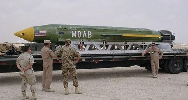 La bomba Moab, la madre di tutte le bombe