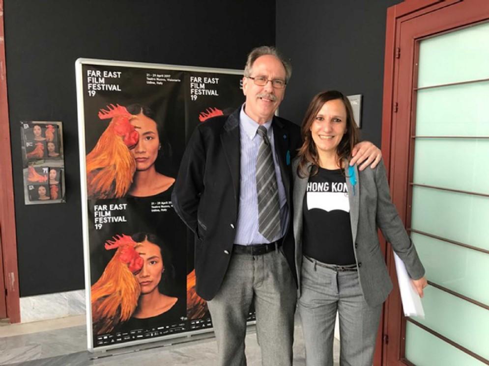 Gianni Torrenti (Assessore regionale Cultura, Sport e Solidarietà) alla presentazione di Far East Film Festival