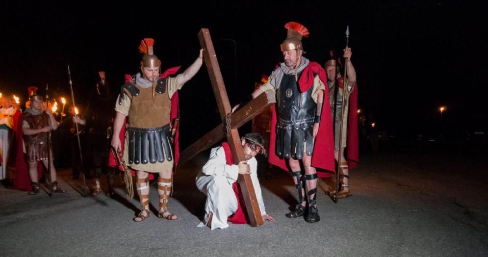 La via Crucis a Vinaio (© Pegoraro)