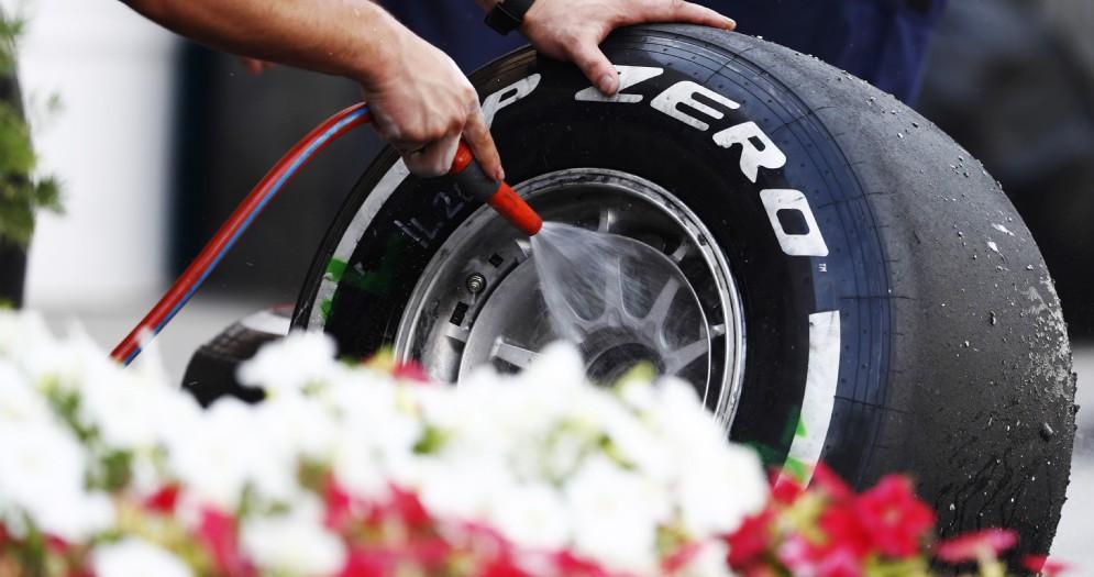 Una gomma di Formula 1