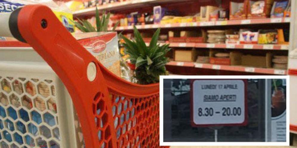 Alcuni negozi apriranno a Pasquetta