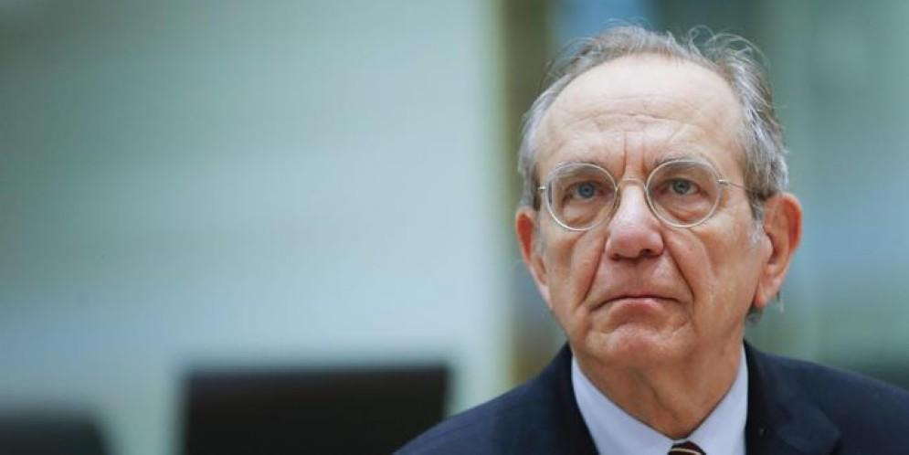Il Ministro dell'Economia, Pier Carlo Padoan