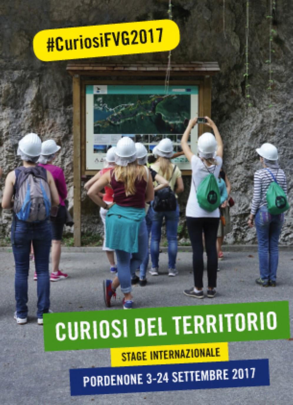 """Aperto il bando di selezione partecipanti per lo """"Stage Internazionale Curiosi del Territorio 2017"""""""