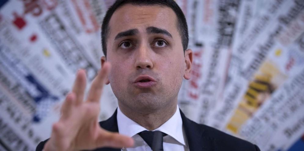 Il vicepresindente della Camera, il pentastellato Luigi Di Maio.