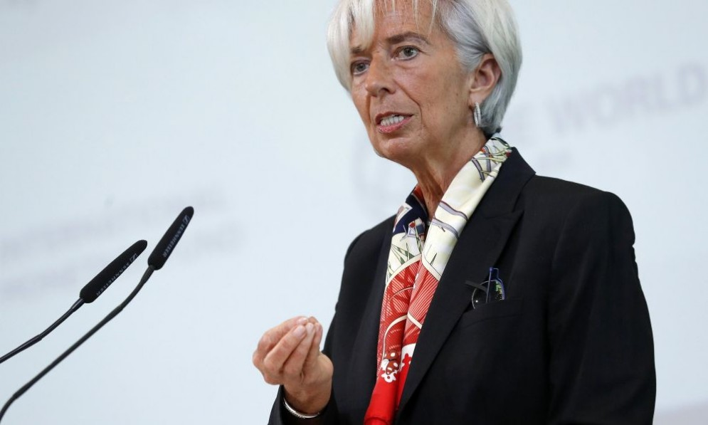 La direttrice del Fmi, Christine Lagarde.