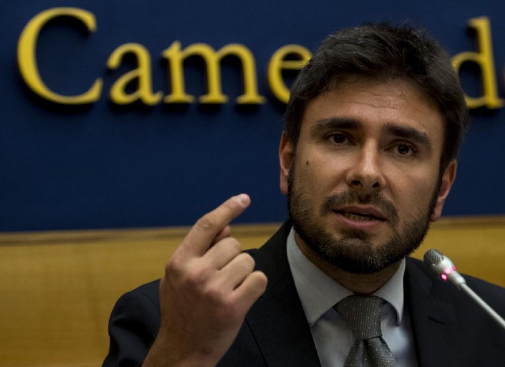 Il deputato del Movimento 5 stelle, Alessandro Di Battista