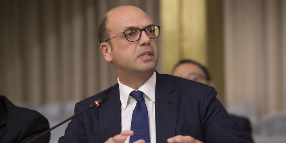 Il ministro degli Esteri, Angelino Alfano