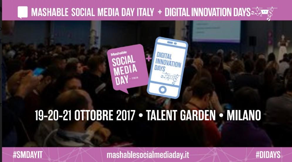 Mashable Social Media Day Italia dal 19 al 21 ottobre a Milano