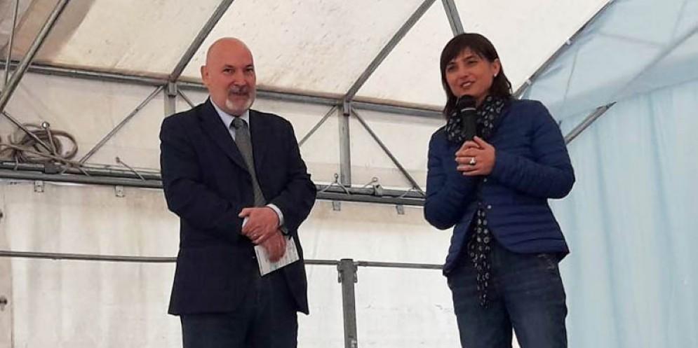 La presidente Serracchiani a Primulacco
