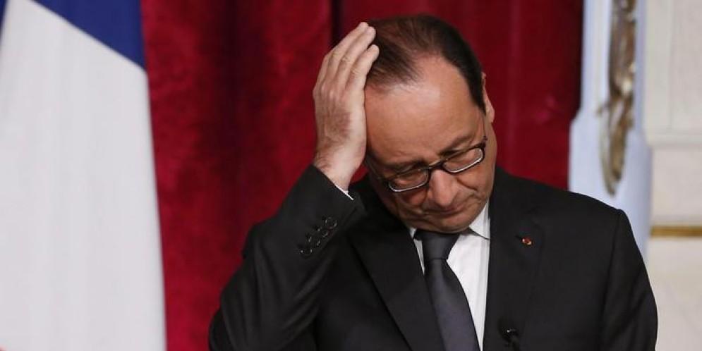 Il Presidente francese uscente, Francois Hollande