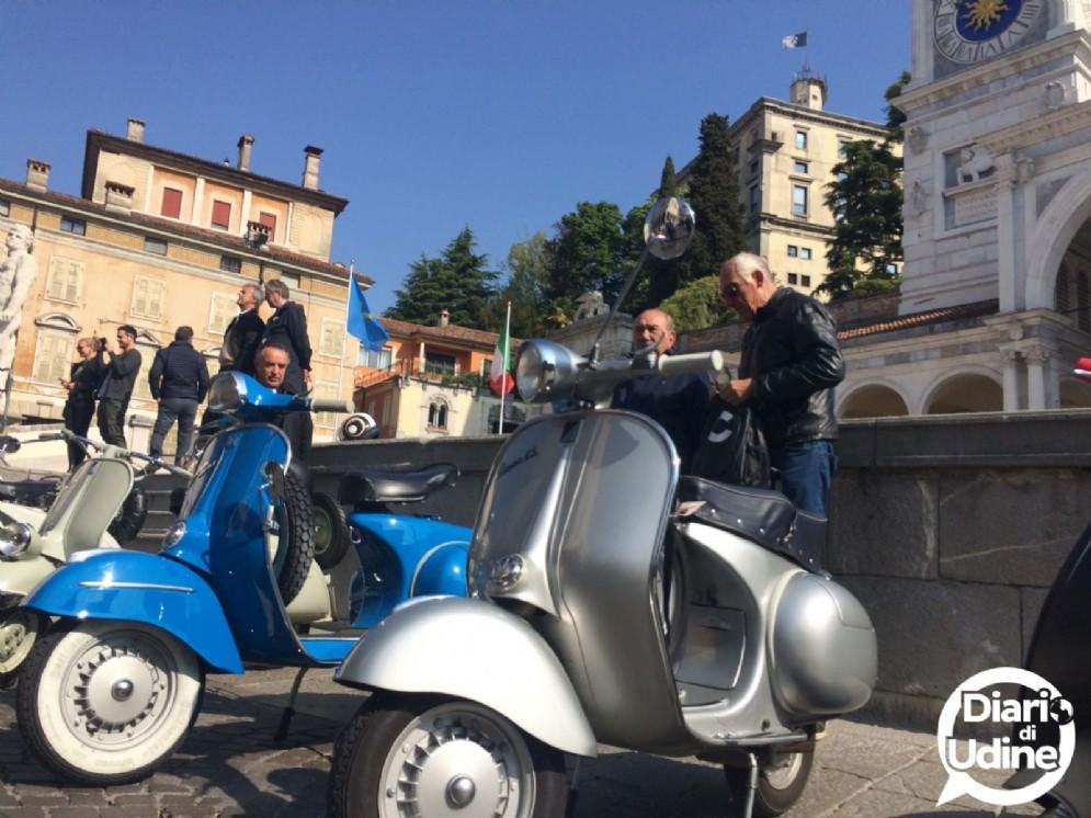 Grande successo per il raduno Vespa di Udine (© Diario di Udine)
