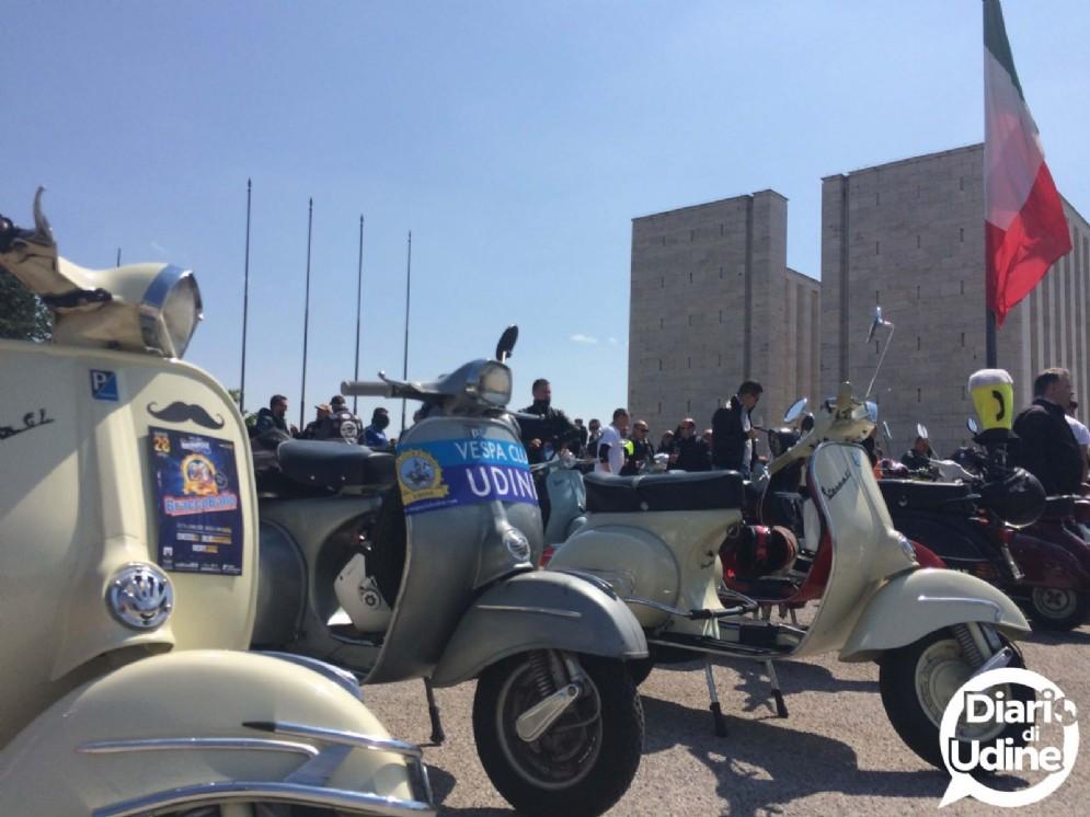 Grande successo per il raduno Vespa di Udine