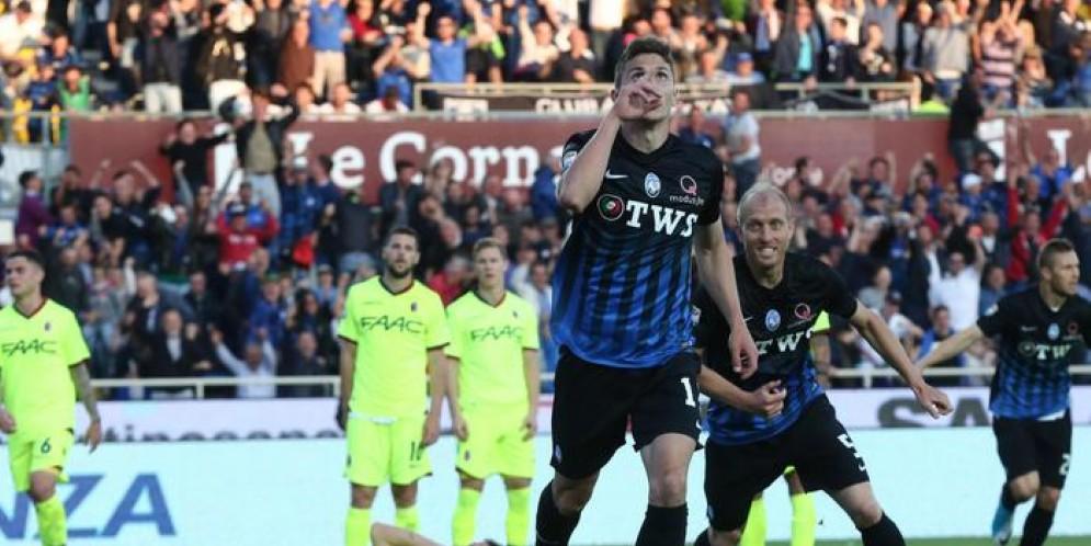 Decide Caldara, bergamaschi quarti sorpassano la Lazio