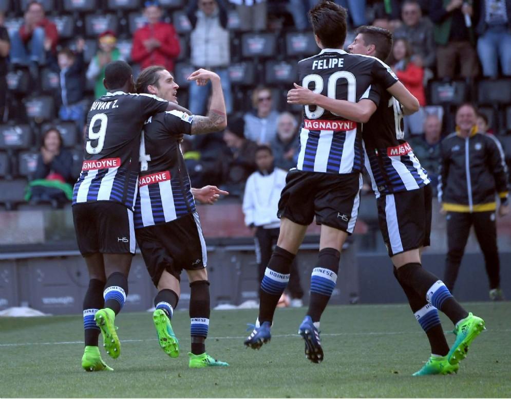 L'Udinese batte il Cagliari al Friuli (© Diario di Udine)