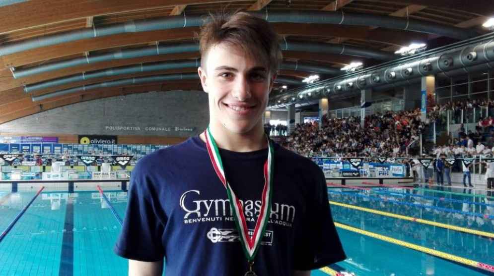 Convocazione in Nazionale per Daniel Zammattio della Gymnasium di Pordenone