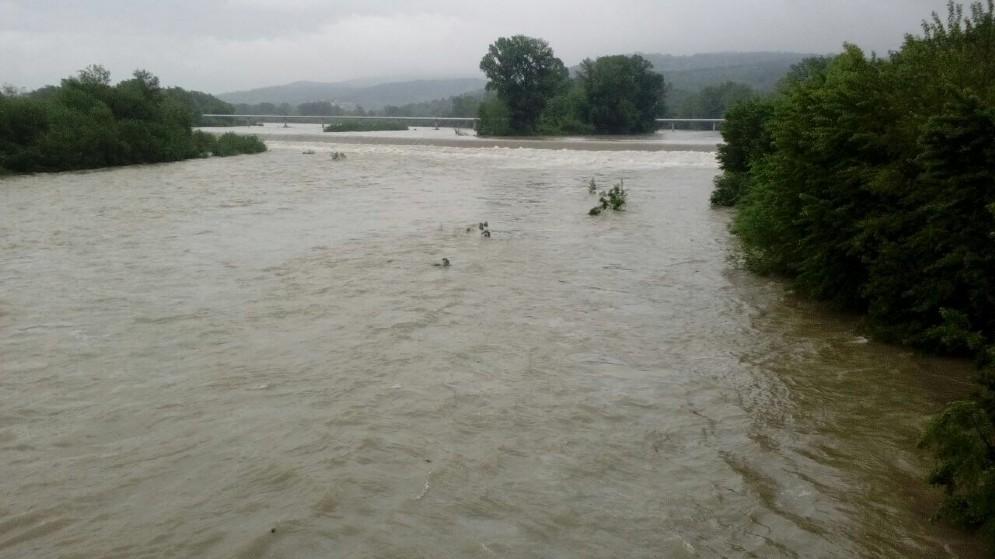 La piena del fiume Isonzo